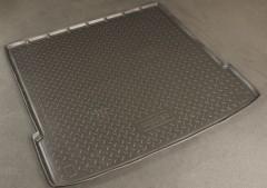 Коврик в багажник для Kia Mohave '09- (5/7 мест), полиуретановый (NorPlast) черный