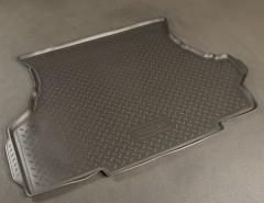 Коврик в багажник для Lada (Ваз) 21099 '90-11, полиуретановый (NorPlast) черный
