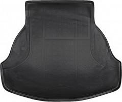 Коврик в багажник для Honda Accord '13-, полиуретановый (NorPlast) черный