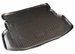 Коврик в багажник для Geely MK Sedan '06-14, резино/пластиковый (Norplast)