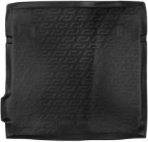 Коврик в багажник для Nissan Pathfinder '05-10, резино/пластиковый (Lada Locker)