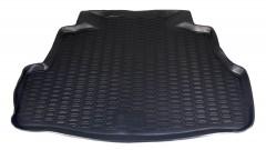 Коврик в багажник для Nissan Almera Classic '06-13, полиуретановый (Novline / Element) черный EXP.999TLB10BL
