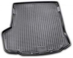 Коврик в багажник для Toyota Corolla '07-12, полиуретановый (Novline) черный