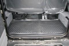 Коврик в багажник для UAZ (УАЗ) Hunter '03-, полиуретановый (Novline / Element) черный EXP.NLC.54.06.B13