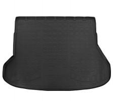 Коврик в багажник для Kia Ceed '12- универсал, полиуретановый (NorPlast) черный