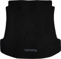 Коврик в багажник для Toyota Fortuner '05-14, текстильный черный