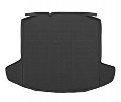 Коврик в багажник для Skoda Rapid '13-, полиуретановый (NorPlast) черный