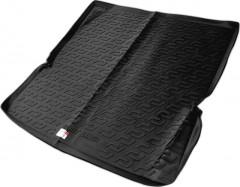 Коврик в багажник для Nissan Patrol '10- (длинный), резино/пластиковый (Lada Locker)