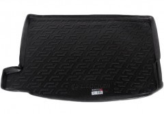Коврик в багажник для Honda Civic 5D '12-, резино/пластиковый, с сабв. (Lada Locker)