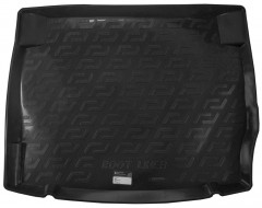 L.Locker Коврик в багажник для BMW 1 F20 '12- резино/пластиковый (L.Locker)