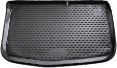 Коврик в багажник для Hyundai i-20 '08-14, полиуретановый (Novline / Element) черный