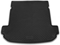 Коврик в багажник для Kia Sorento '15- (7 мест), длинный полиуретановый (Novline / Element) черный