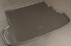 Коврик в багажник для Kia Rio '11-15 седан, полиуретановый (NorPlast) черный
