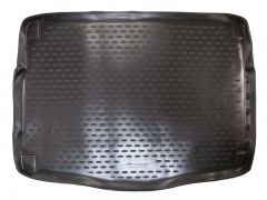 """Коврик в багажник для Kia Ceed '12- хетчбэк, полиуретановый """"премиум"""" (Novline) черный"""