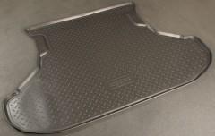 Коврик в багажник для Lada (Ваз) 2111 универсал, полиуретановый (NorPlast) черный