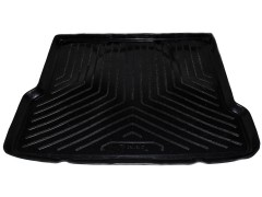 Коврик в багажник для Samand EL / LX 06-, резино/пластиковый (NorPlast) черный