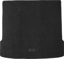 Коврик в багажник для Kia Mohave '09- (5/7 мест), текстильный черный