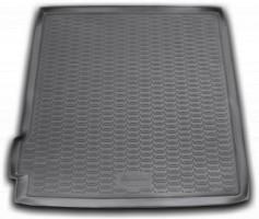 Коврик в багажник для Nissan Pathfinder '05-14, полиуретановый (Novline / Element) черный