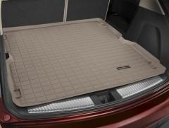 Коврик в багажник для Acura MDX '14-, резиновый (WeatherTech) бежевый