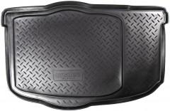 Коврик в багажник для Kia Soul '09-13 (нижний), полиуретановый (NorPlast) черный