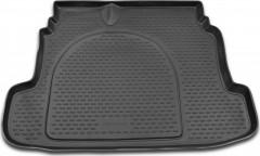 Коврик в багажник для Kia Cerato '09-13, полиуретановый (Novline / Element) серый