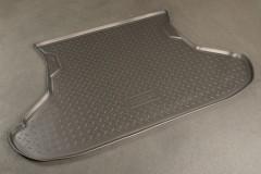 Коврик в багажник для Lada (Ваз) 2112 хетчбэк, полиуретановый (NorPlast) черный