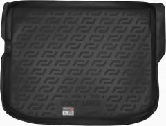Коврик в багажник для Citroen C4 Aircross '12-, резино/пластиковый (Lada Locker)