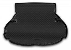 Коврик в багажник для Toyota Highlander '01-07, длинный, полиуретановый (Novline / Element) черный