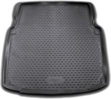 Коврик в багажник для Mercedes CLS-Class W219 '04-10, полиуретановый (Novline / Element) черный
