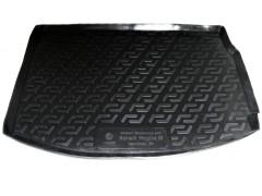 Коврик в багажник для Renault Megane '08-16 хетчбэк, резино/пластиковый (Lada Locker)