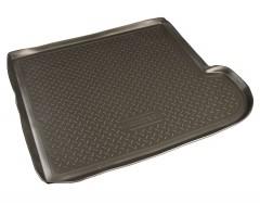 Коврик в багажник для Subaru Tribeca '04-14, 5 мест, полиуретановый (NorPlast) черный