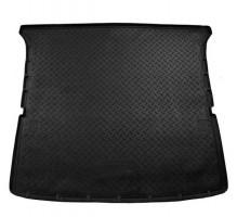 Коврик в багажник для Nissan Patrol '10- (длинный), полиуретановый (NorPlast) черный