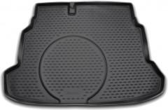 Коврик в багажник для Kia Cerato Koup '09-13, полиуретановый (Novline / Element) черный