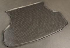 Коврик в багажник для Lada (Ваз) 2115 '97-12 седан, полиуретановый (NorPlast) черный