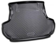 Коврик в багажник для Mitsubishi Outlander XL '07-12 (без сабвуфера), полиуретановый (Novline / Element) черный