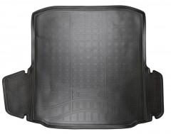 Коврик в багажник для Skoda Octavia A7 '13- седан, полиуретановый (NorPlast) черный