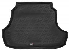 Коврик в багажник для ЗАЗ (Zaz) Forza / Chery A13 '11- седан, резино/пластиковый (Lada Locker)