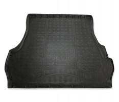 Коврик в багажник для Toyota Land Cruiser 200 '07- (5 мест), полиуретановый (NorPlast) черный