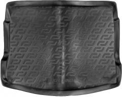 Коврик в багажник для Nissan Qashqai '06-14, резино/пластиковый (Lada Locker)