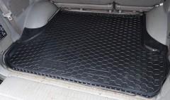 Коврик в багажник для Toyota LC 100 '98-07, резиновый (AVTO-Gumm)