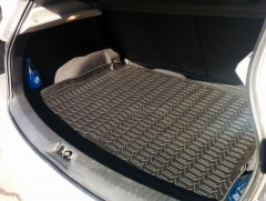 Коврик в багажник для Nissan Qashqai '06-14, полиуретановый (Novline / Element) черный