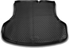 Коврик в багажник для Nissan Sentra '14-, полиуретановый (Novline / Element) черный