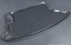 Коврик в багажник для Chevrolet Niva '09-, полиуретановый (NorPlast) черный