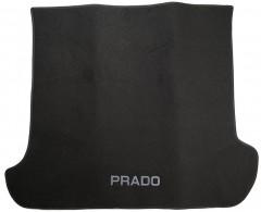 Коврик в багажник для Toyota LC Prado 120 '03-09, текстильный черный