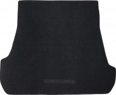 Коврик в багажник для Toyota Land Cruiser 200 '07- (5 мест), текстильный черный