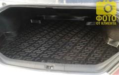 Коврик в багажник для Nissan Teana '06-08, резино/пластиковый (Lada Locker)
