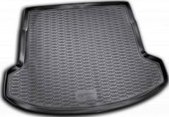 Коврик в багажник для Nissan Qashqai +2 '06-14, (длинный), полиуретановый (Novline / Element) черный EXP.999TLJ10FB