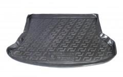 Коврик в багажник для Kia Sportage '04-10, резиновый (Lada Locker)