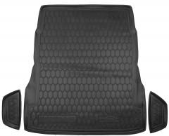 Коврик в багажник для Mercedes S-Class W222 '13-, без регулировки сид., резиновый (AVTO-Gumm)