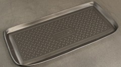 Коврик в багажник для Suzuki Grand Vitara '06- (3 двери), полиуретановый (NorPlast) черный